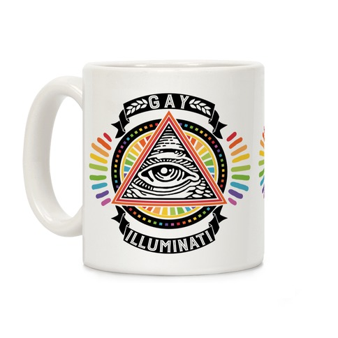 Gay Illuminati Coffee Mug