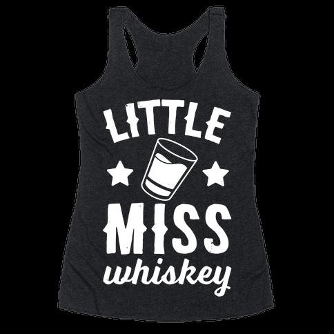 Little Miss Whiskey Racerback Tank Top