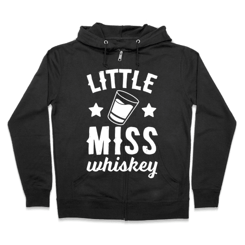 Little Miss Whiskey Zip Hoodie