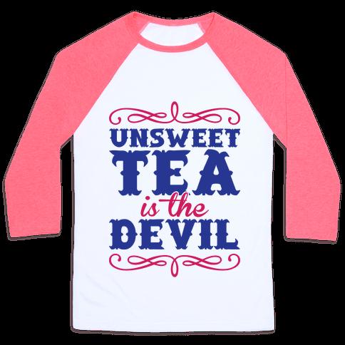Unsweet Tea Is The Devil