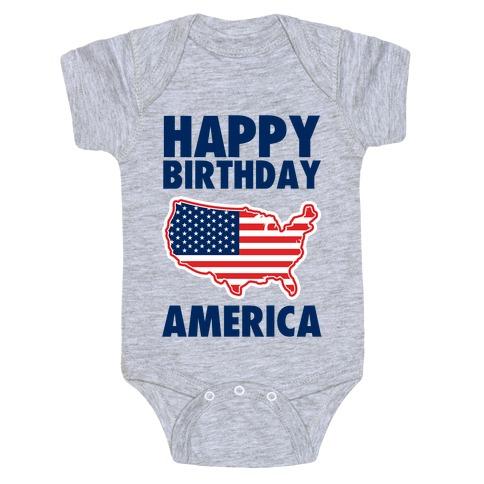 Happy Birthday America Baby