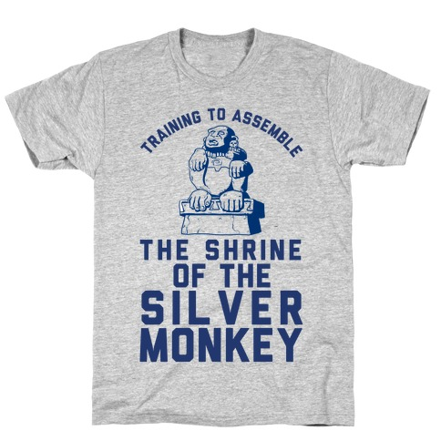 Training To Assemble The Shrine Of The Silver Monkey T-Shirt
