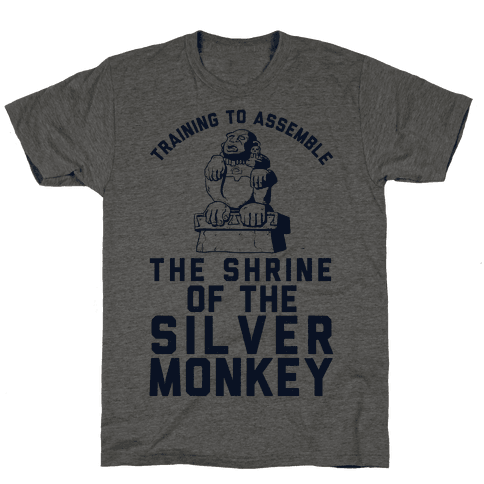 Training To Assemble The Shrine Of The Silver Monkey