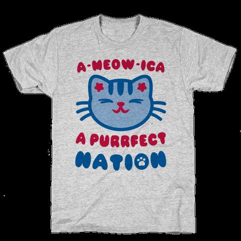 Ameowica Mens T-Shirt