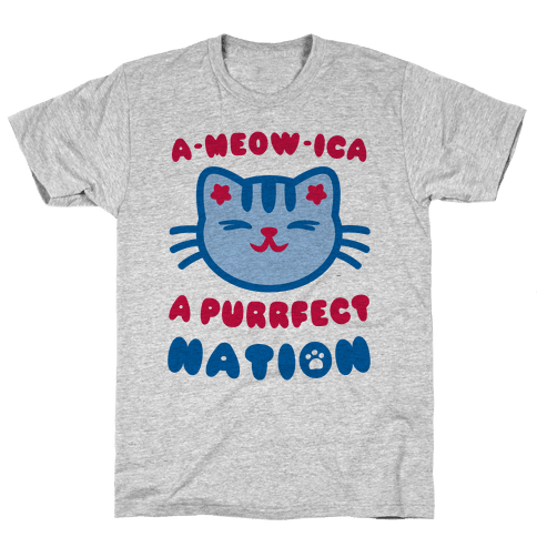 Ameowica Mens T-Shirt