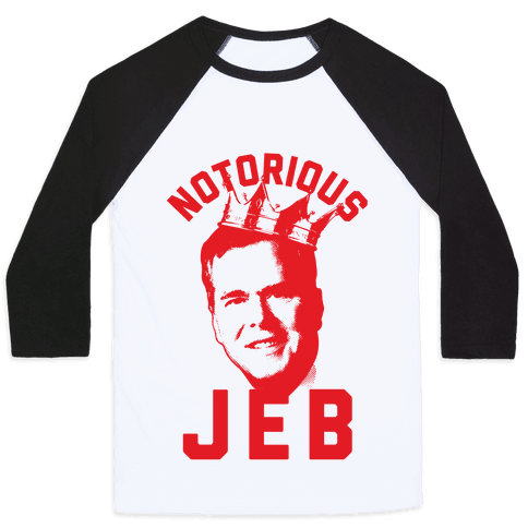 Notorious JEB Baseball Tee