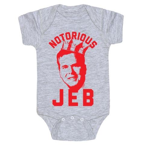 Notorious JEB Baby Onesy