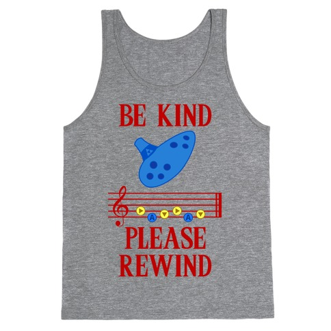 Be Kind, Please Rewind Tank Top
