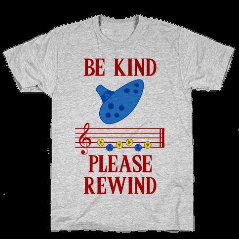Be Kind, Please Rewind Mens T-Shirt