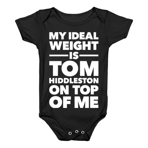 Ideal Weight (Tom Hiddleston) Baby Onesy