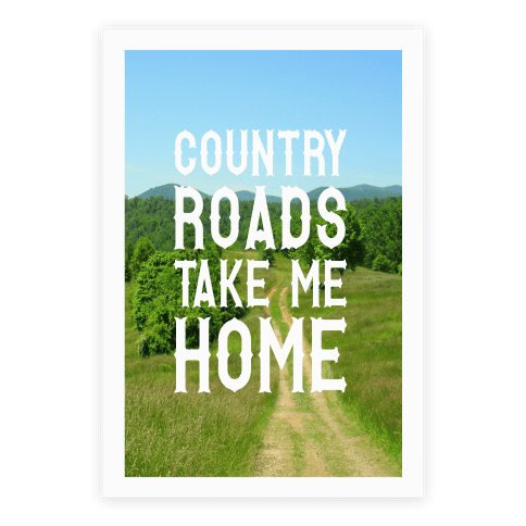 Country Roads Poster