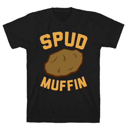 Spud Muffin Mens T-Shirt