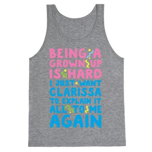 Clarissa Explains It All Tank Top