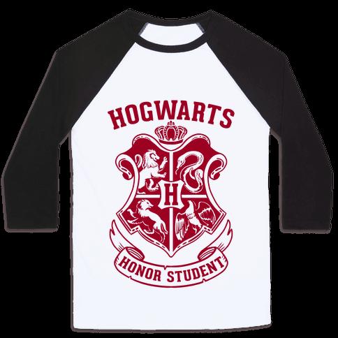 Hogwarts Honor Student Baseball Tee
