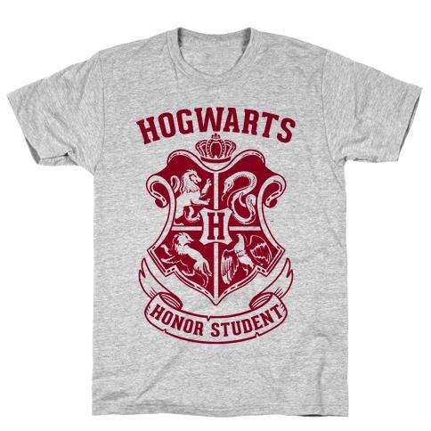 Hogwarts Honor Student Mens T-Shirt