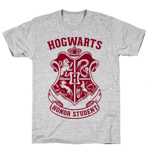 Hogwarts Honor Student Mens T-Shirt