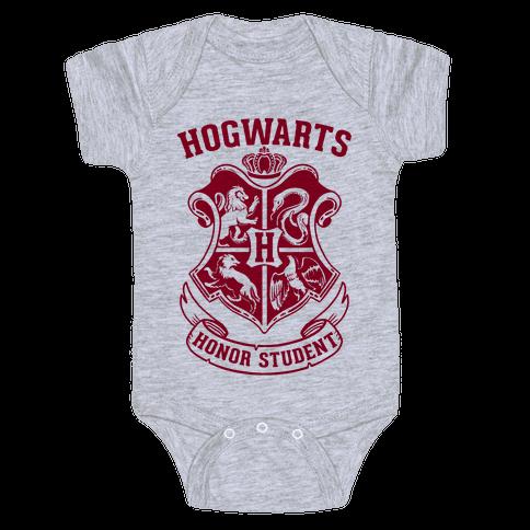 Hogwarts Honor Student Baby Onesy