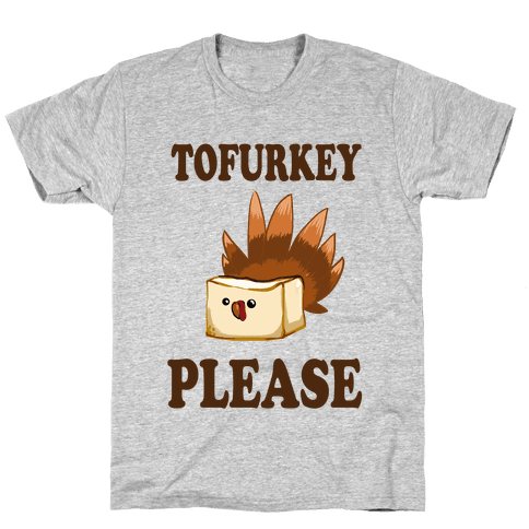 Tofurkey please! (Long Sleeve) Mens T-Shirt