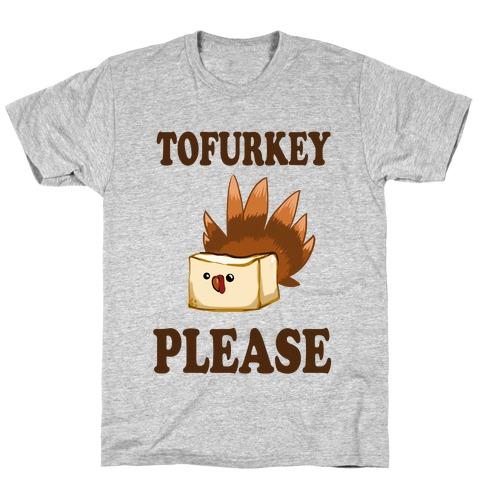 Tofurkey please! (Long Sleeve) Mens T-Shirt