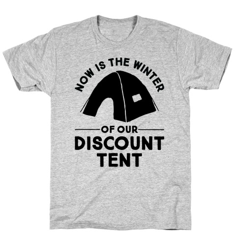 Discount Tent Mens/Unisex T-Shirt