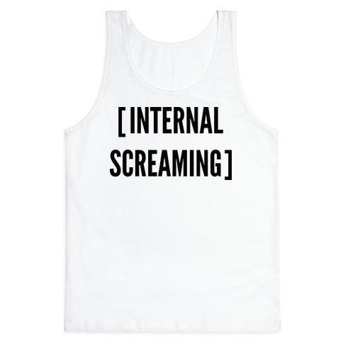 Internal Screaming Tank Top