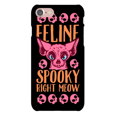 Feline Spooky Right Meow Phone Case