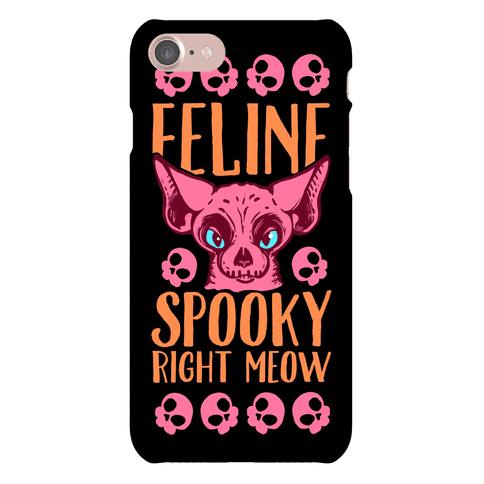 Feline Spooky Right Meow Phone Case