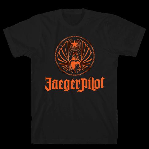 Jaeger Pilot Mens T-Shirt