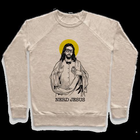 Nerd Jesus Pullover