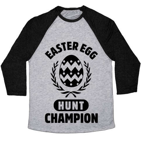 Easter Egg Hunt Champion Baseball Tee