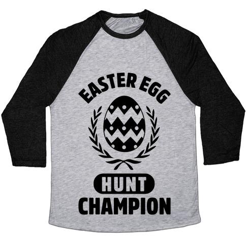 Easter Egg Hunt Champion Baseball Tee