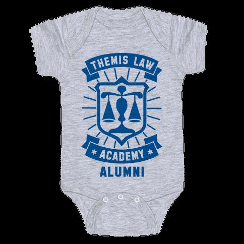 Themis Law Academy Alumni Baby Onesy