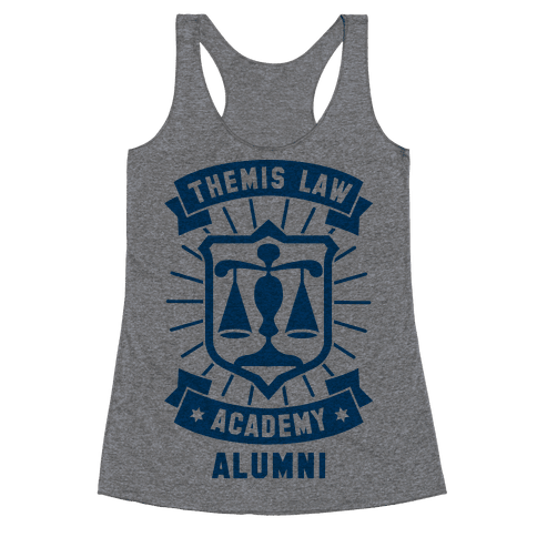 Themis Law Academy Alumni Racerback Tank Top