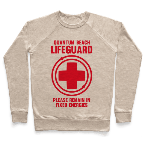 Quantum Lifeguard (Please Remain In Fixed Energies) Pullover