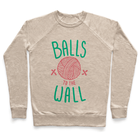 Balls to the Wall (Yarn) Pullover