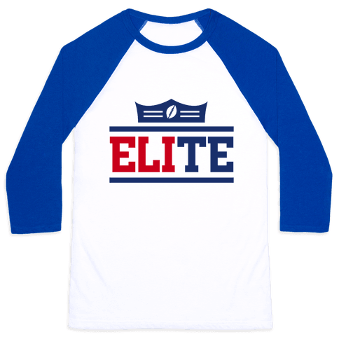 New York is Elite Baseball Tee