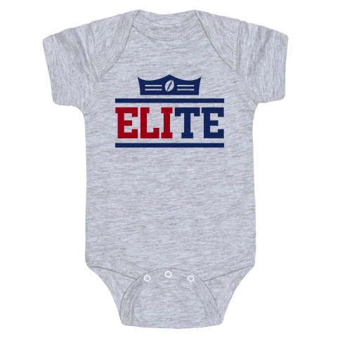 New York is Elite Baby Onesy