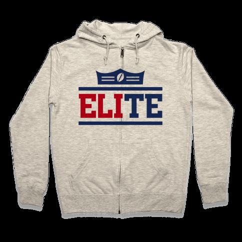 New York is Elite Zip Hoodie