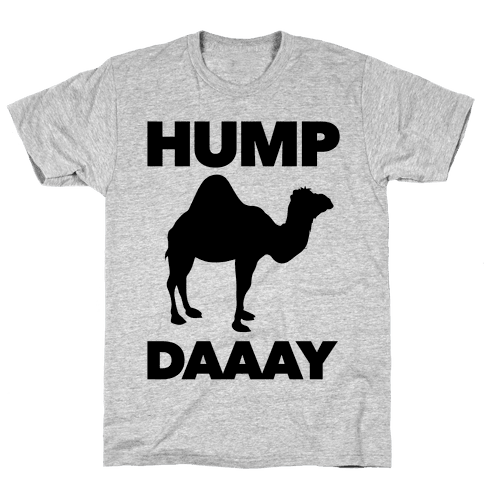 Hump Day (Camel) Mens T-Shirt