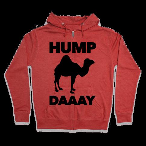 Hump Day (Camel) Zip Hoodie