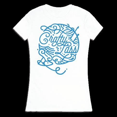 Crafty Lass Womens T-Shirt