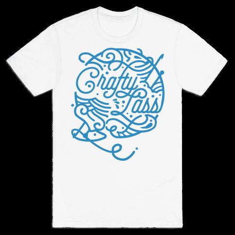 Crafty Lass Mens T-Shirt