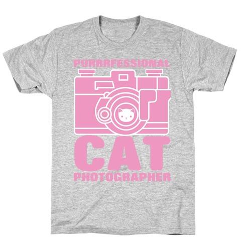 Professional Cat Photographer T-Shirt