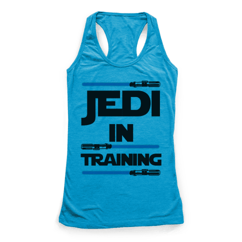 Jedi In Training Racerback Tank Top