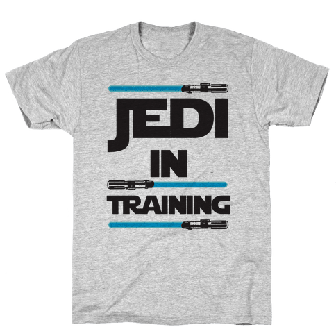 Jedi In Training Mens T-Shirt