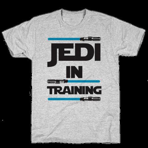 Jedi In Training Mens T-Shirt