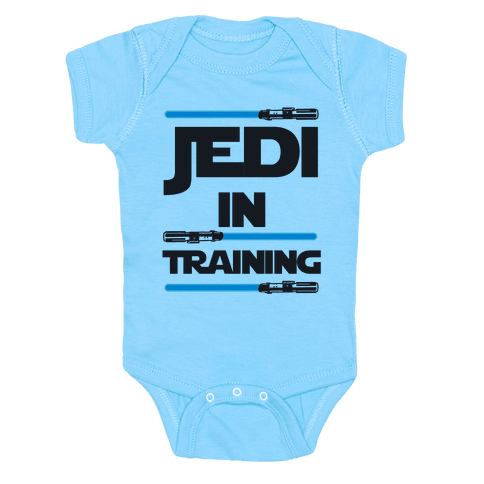 Jedi In Training Baby Onesy