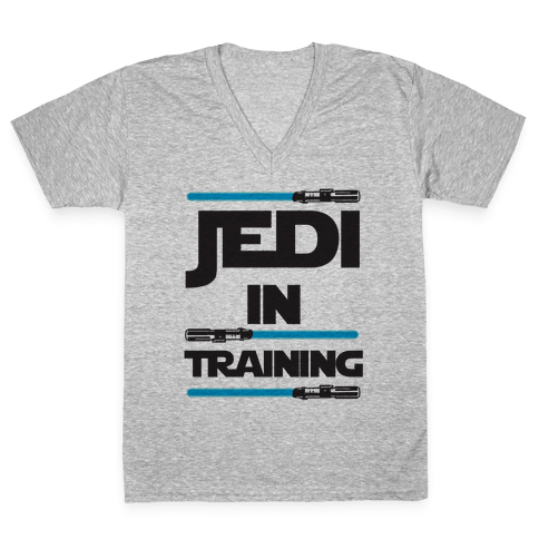 Jedi In Training V-Neck Tee Shirt