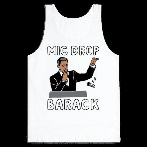 Mic Drop Barack Tank Top