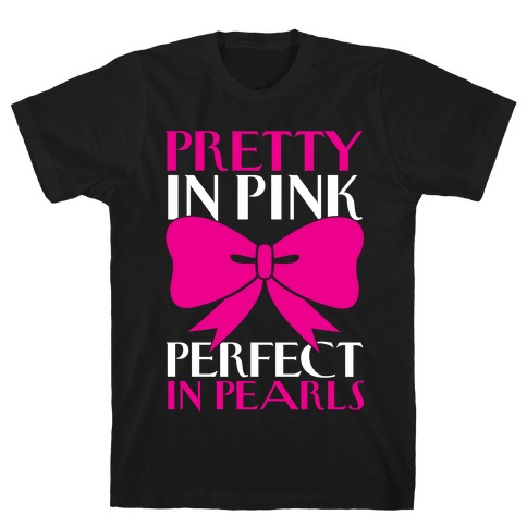 Pink And Pearls T-Shirt